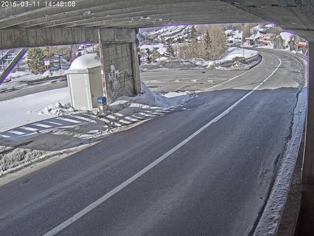 Webcam  Tunnel grosser St. Bernhard - schweizer Einfahrt